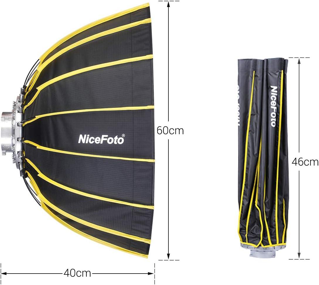 Nicefoto 60cm Tragbare Schnelle Installation Kamera