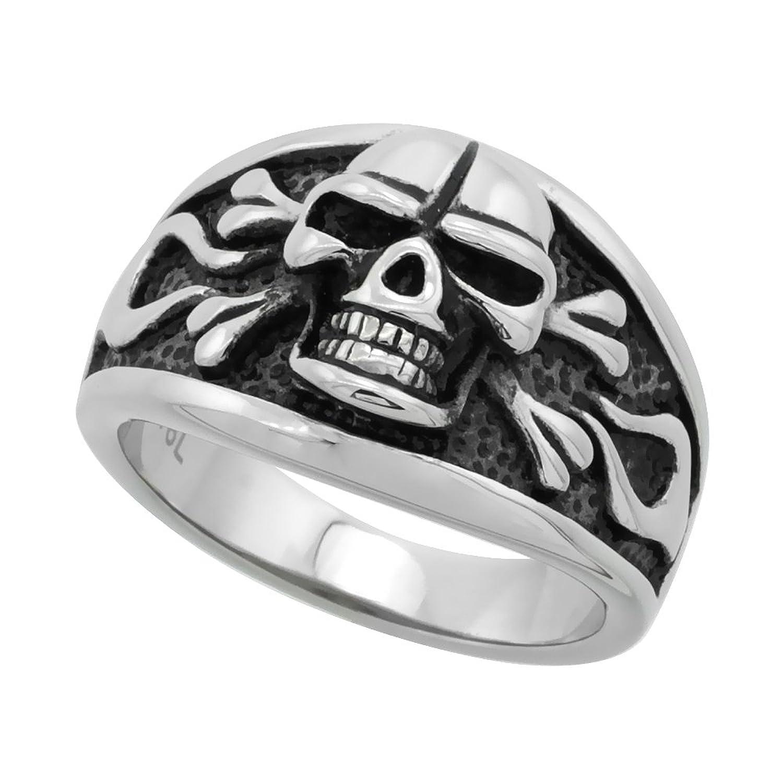 Stainless Steel Skull Crossbones Cigar Image 1