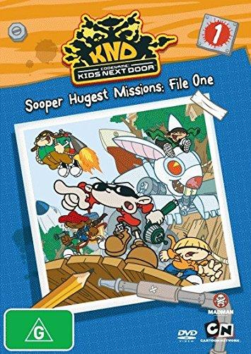 Codename Kids Next Door Sooper Hugest Missions File 1 DVD
