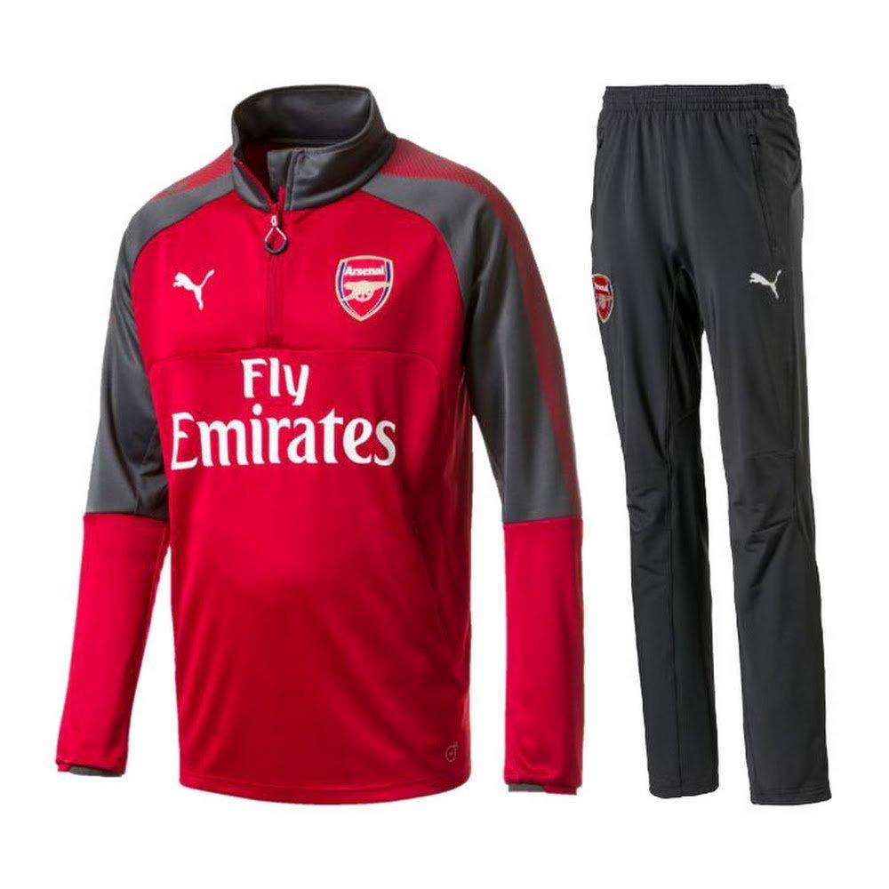 Arsenal Trainingsanzug- BOYS - rot grau 2017 2018