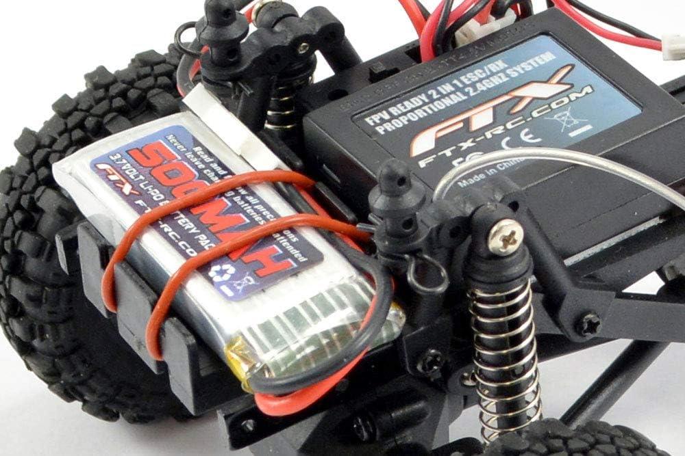 FTX FTX5502BK-L Outback Mini 1:24 Trail RC Crawler, Color ...