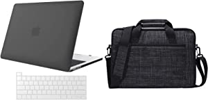 ProCase MacBook Pro 16 Case A2141 2019 Release with Keyboard Cover Bundle with ProCase 14-15.6 Inch Briefcase Messenger Bag