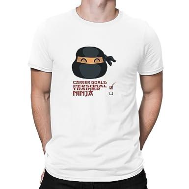 Teeburon Career Goals Personal Trainer Ninja Camiseta ...