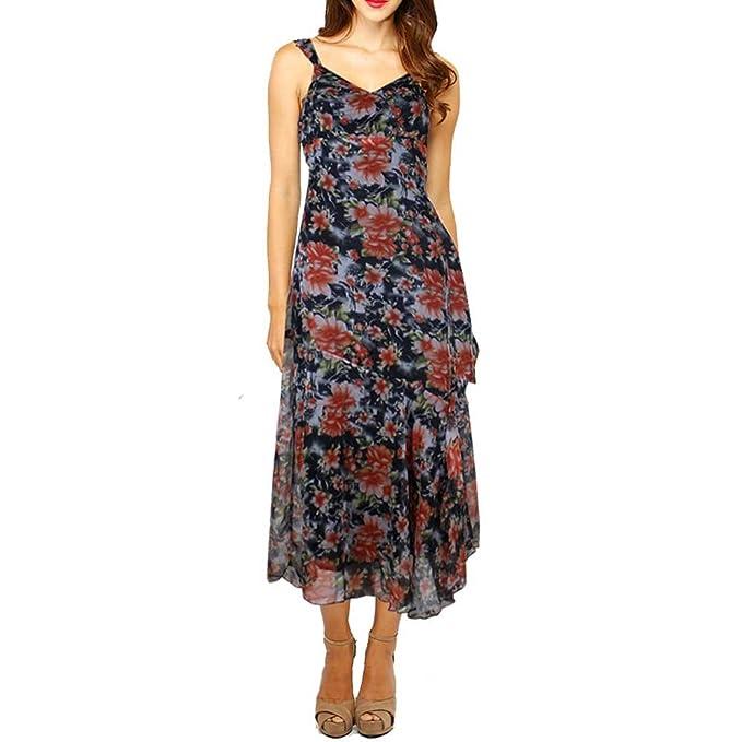 d247d6bfe9c Baliza - Vestido - Sin Mangas - para Mujer  Amazon.es  Ropa y accesorios