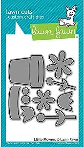 Lawn Fawn Lawn Cuts Custom Craft Die LF1619 Little Flowers
