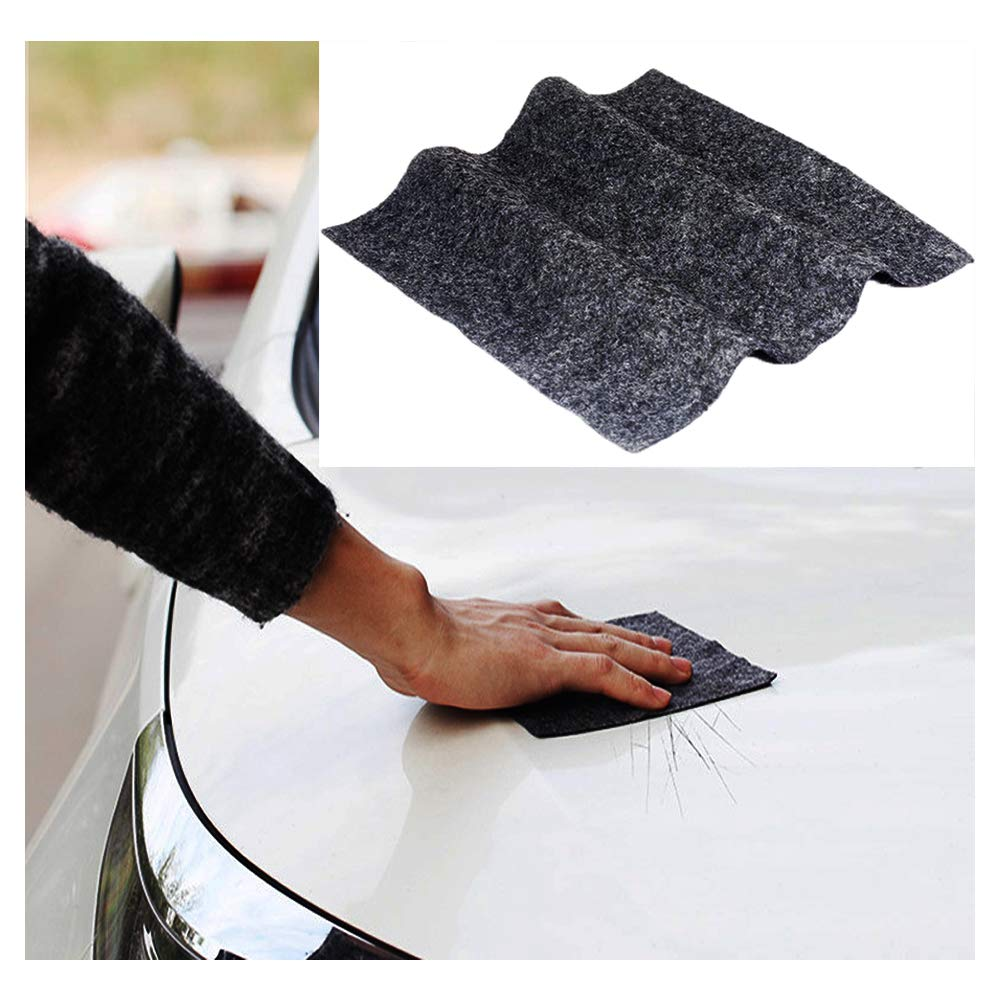 Dualshine XG Multipurpose Scratch Remover Cloth for Car-Using Nanotechnology-Fix Car Scratch Repair Cloth Polish for Light Paint Scratches Remover Scuffs on Surface Repair-Repair Scratches Product Pic by Dualshine