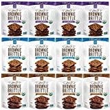 Brownie Brittle Organic Non-GMO Variety Pack, 5 oz (pack of 12)