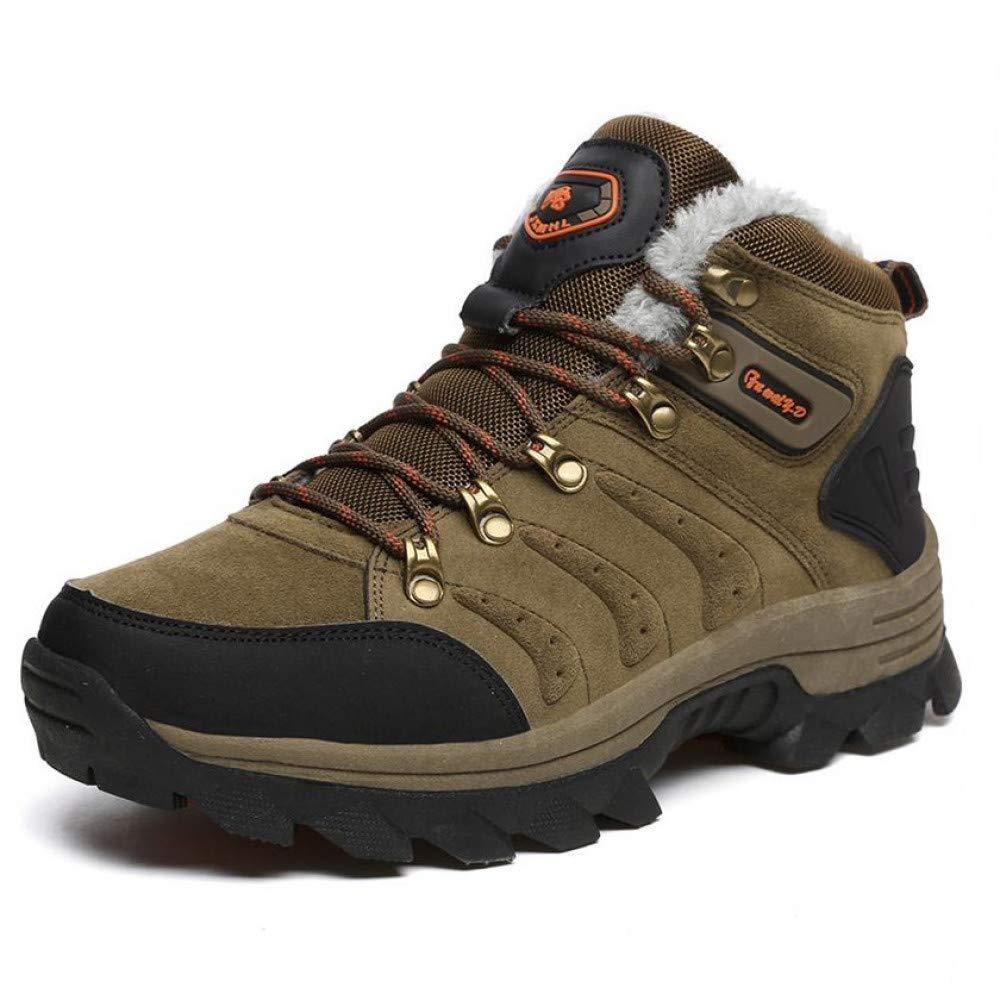 FHCGMX Männer Stiefel für Männer Winter Schnee Stiefel Warm Lace Up Big Größe High Top Mode Männer Schuhe Turnschuhe