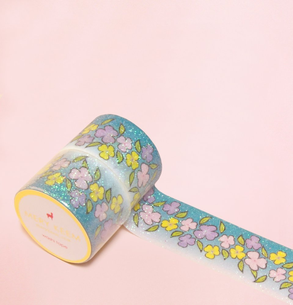 Amazon.com: My Wonder Garden with Sparkles Washi Tape for ...
