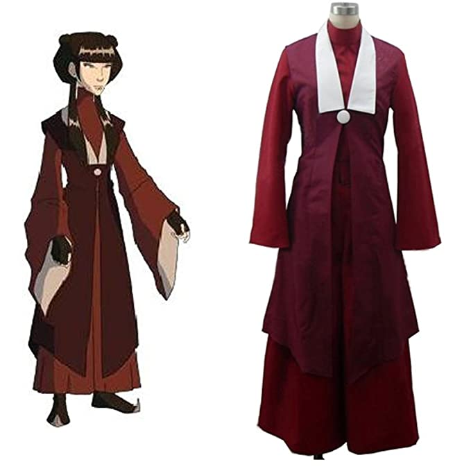 Cuterole Women Avatar The Last Airbender Mai Cosplay Costume