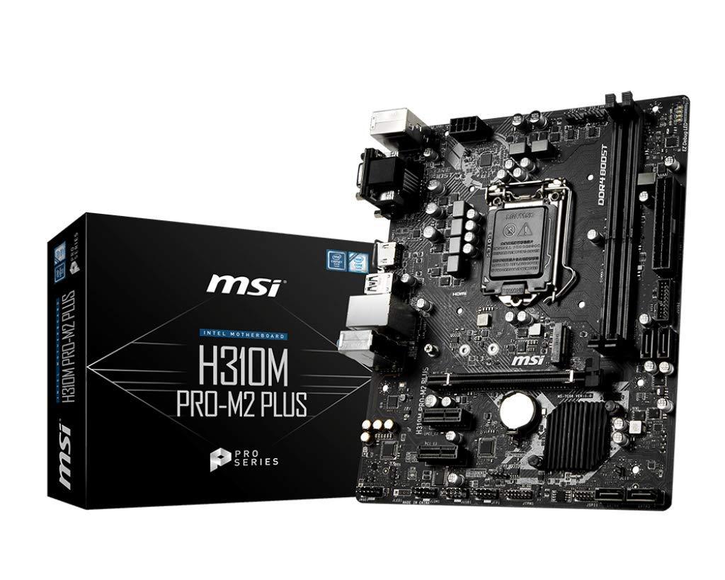 Msi Proseries Intel Coffee Lake H310 Lga H310m Pro-m2 Plus