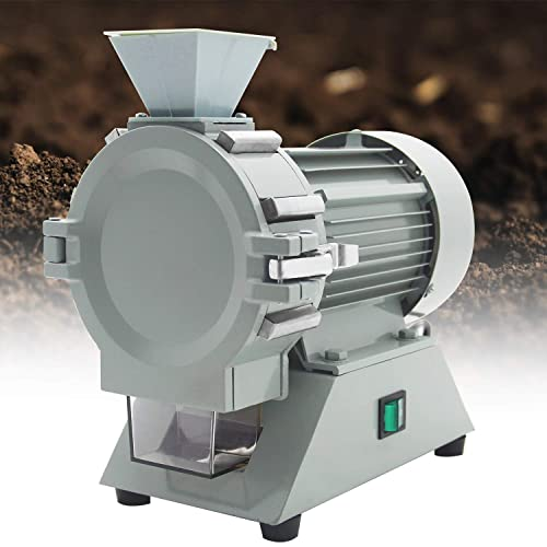 Hanchen Plant Grinder 120 Mesh Soil Crusher Pulverizer Grinding Machine Superfine Herb Disintegrator Continuous Operation Lab Equipment