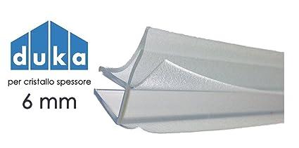 Box Doccia Duka Prezzi.Guarnizione Professionale Originale Duka Universale Spessore 6 Mm L 1 Metro