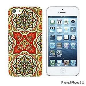 OnlineBestDigital - Fabric Pattern Hard Back Case for Apple iPhone 5S / Apple iPhone 5 - Waverly Tapestry Pattern