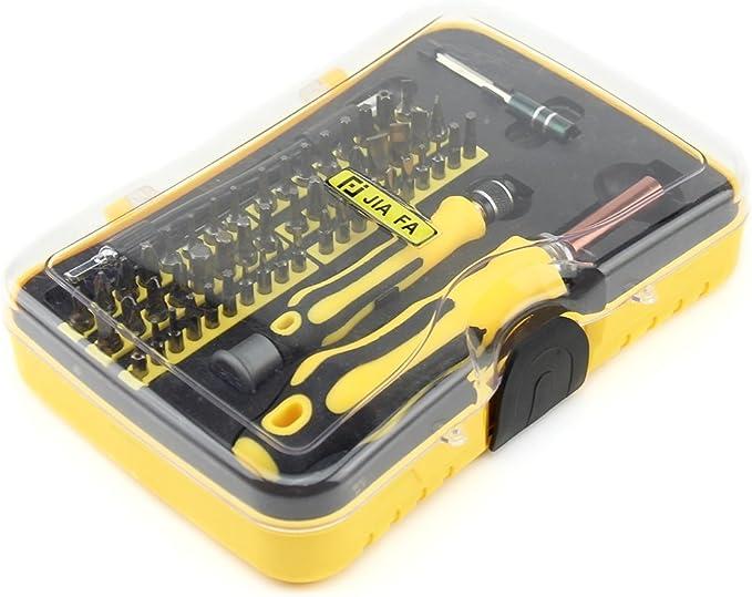 Deluxe Cell Phone Repair Tool Kits Durable JF-6096B 20 in 1 Professional Multi-Functional Screwdriver Set Repair Kits