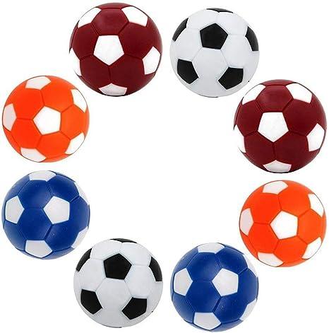 Cofemy Bolas De Recambio De Futbolín De Futbolín, Mini Colorido 36mm (1.4) Reemplazo Oficial De Accesorios De Pelota De Juego De Mesa Multicolor - Juego De 8: Amazon.es: Deportes y aire libre