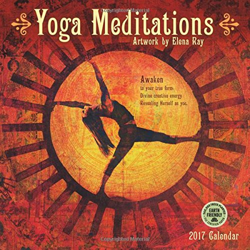 Yoga Meditations 2017 Wall Calendar