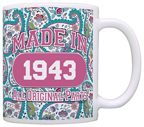 Made in 1943 75th Birthday Mug