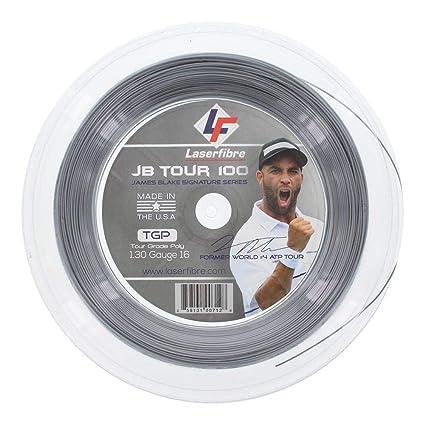 LaserFibre JB Tour 100 Tennis String Reel Silver-(858131007128)