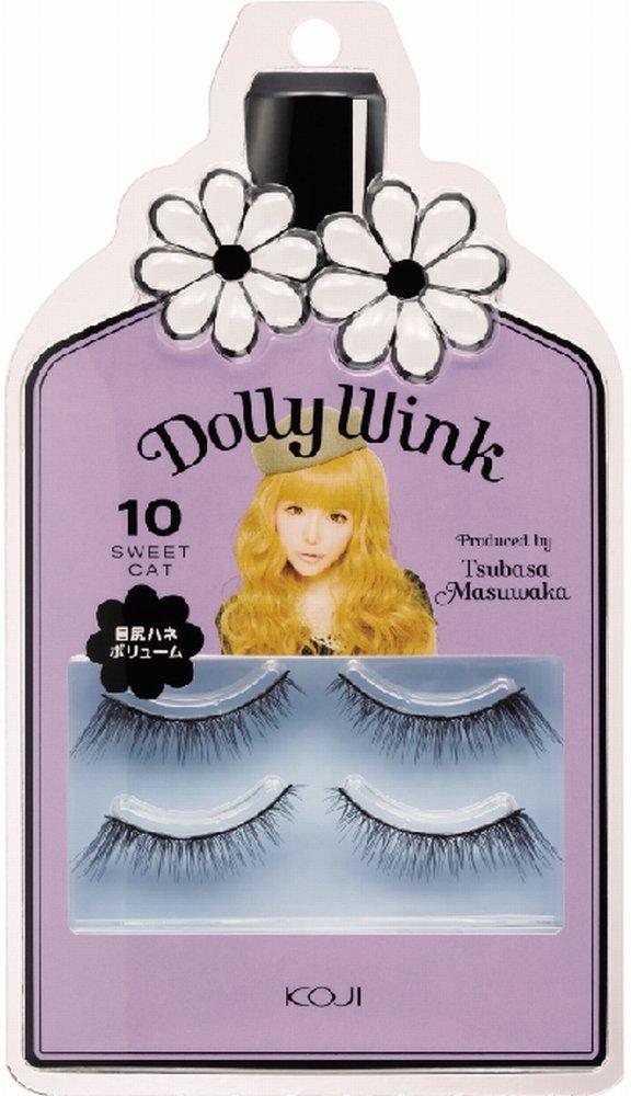 611fbbf778e Amazon.com : Dolly Wink Koji False Eyelashes #10 Sweet Cat : Fake Eyelashes  And Adhesives : Beauty