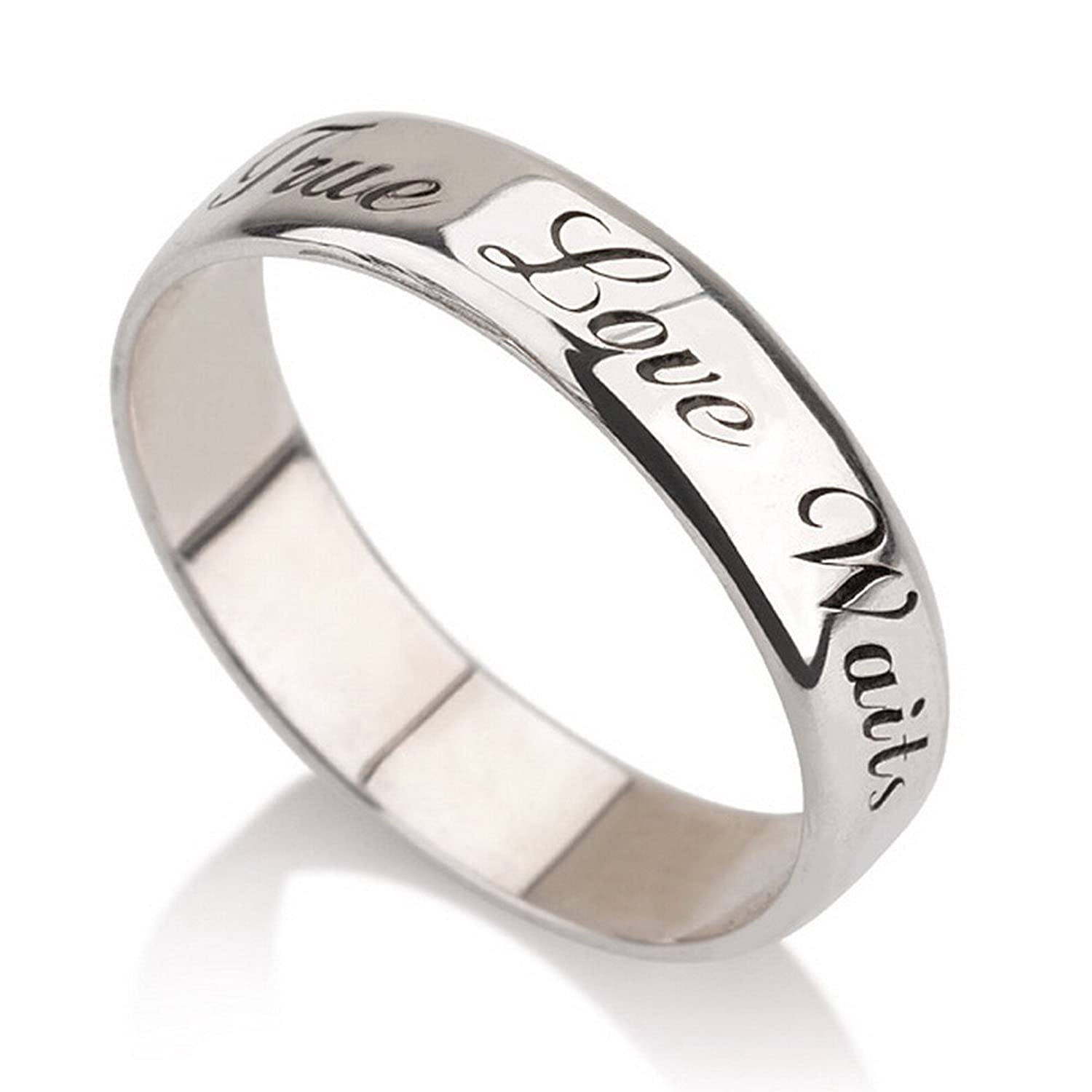 to engraved jewellery made multiple rings engagement girlfriend promise bands custom trend couple personalized ring stack with stackable name how for set