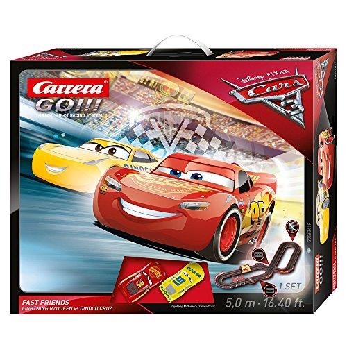 Carrera 62419 GO!!! Disney/Pixar Cars 3 Fast Friends slot car race set