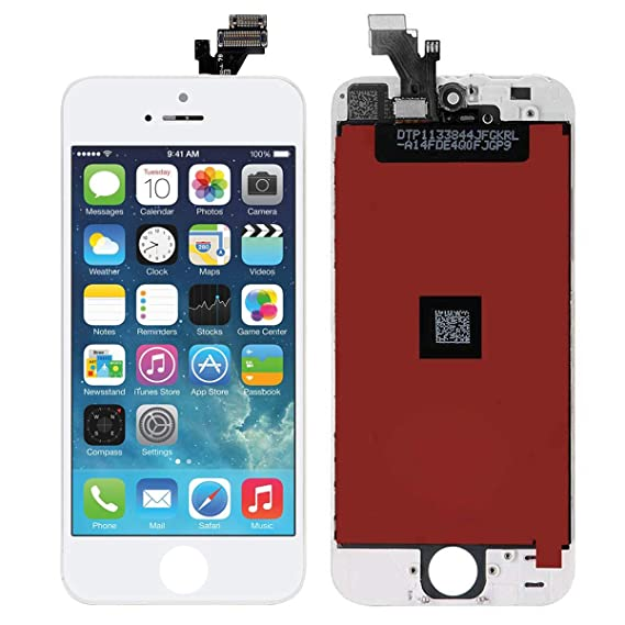 Image Unavailable. Image not available for. Color  Screen Replacement for iPhone  5 White ... 69f52db075
