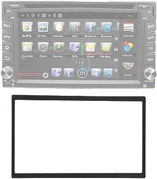 Maxiou singolo 2 DIN Radio stereo kit di installazione Trim Dash fascia Adattatore