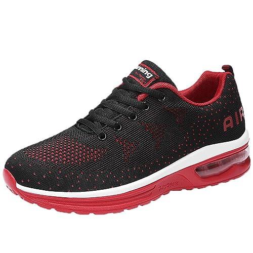 Zapatillas de Running para Hombre,BBestseller Zapatillas para Hombre Zapatillas de Senderismo para Hombre al Aire Libre Fitness Casual Sneakers Invierno: ...