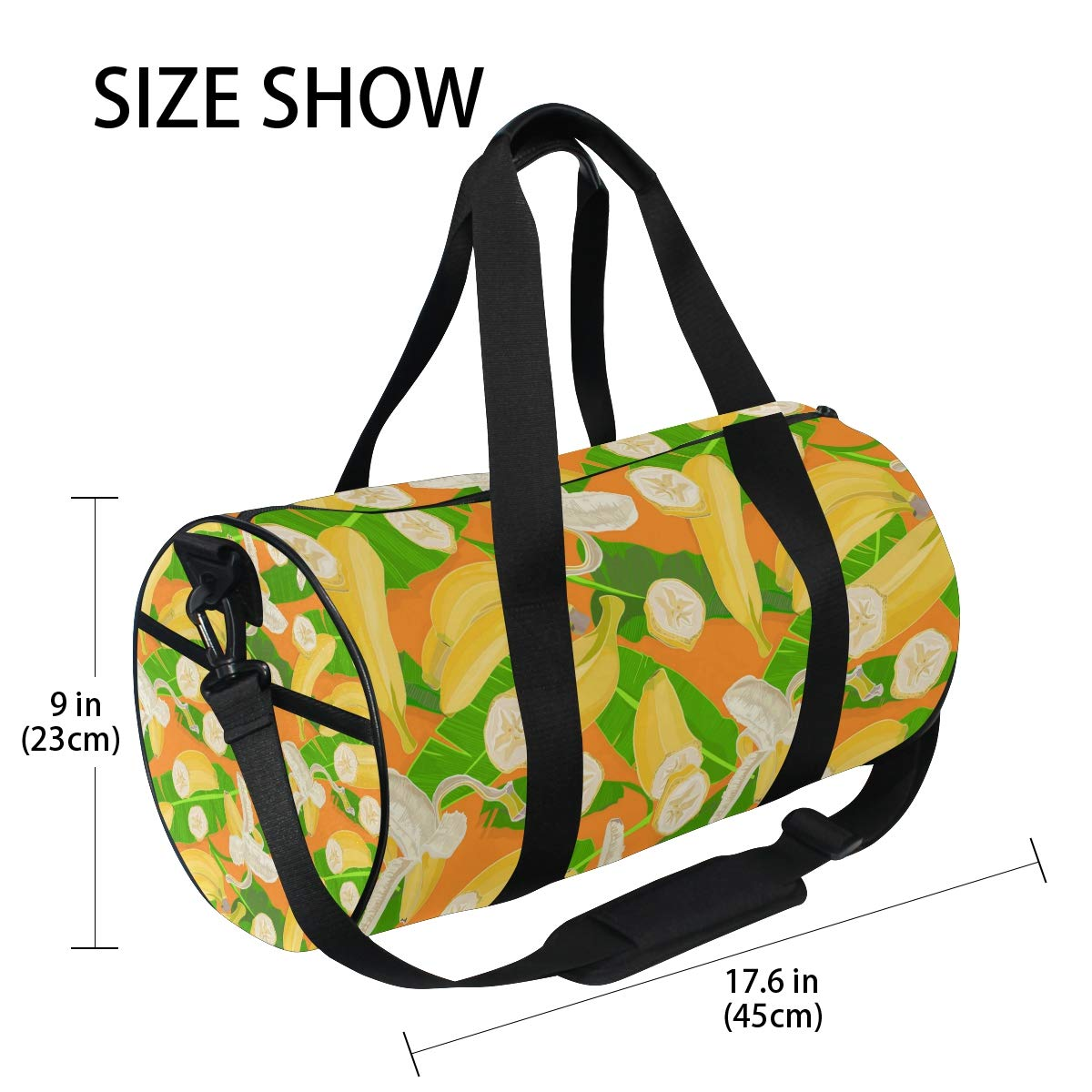 Waterproof Non-Slip Wearable Crossbody Bag fitness bag Shoulder Bag Terro Fruit Picture
