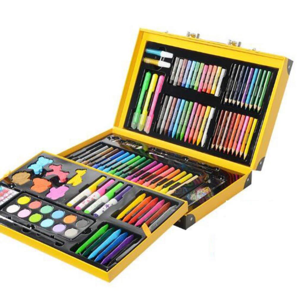 HQYDBB Kids Premium Art Set, 159 Set di pennelli per Bambini, Combinazione di Scuola primaria con Penna Acquerello