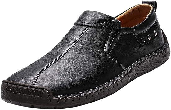 Vaycally Zapatos Oxford de cuero de gamuza para hombre Derby clásico con cordones, zapatos casuales para hombres al aire libre Pisos transpirables más zapatos de cuero de ocio de terciopelo: Amazon.es: Bricolaje