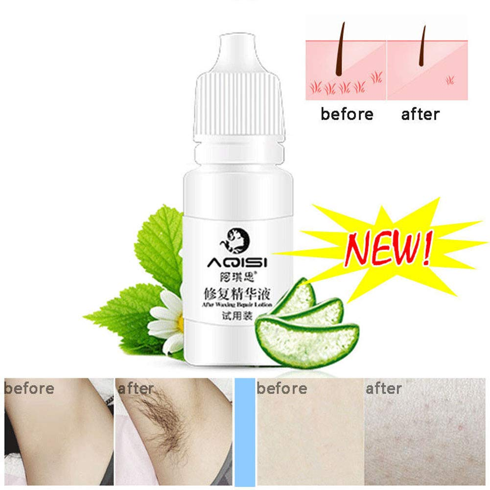 Ocamo Permanent Hair Growth Inhibitor After Unhairing Repair Essence Shrinking Pores Depilated Skin Care Lotion 5ml