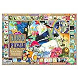 eeBoo Natural Science Puzzle for Kids, 100 pieces
