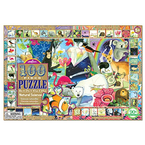 eeBoo Natural Science Puzzle for Kids, 100 pieces by eeBoo