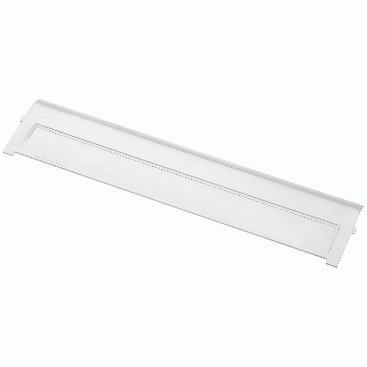 Window For Quantum Ultra Clearview Poly Bins - 10-3/4''Wx3-3/4''H