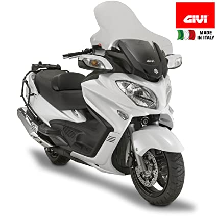 Amazon.com: GIVI D3104ST Replacement Wind Shield - Suzuki Burgman ...