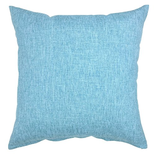YOUR SMILE Solid Color Decorative Cotton Linen