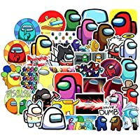 Among Us Graffiti Stickers 50 Pcs Among Us Fandom Crewmate Stickers Not Repeated for Kids Teens Adults DIY Snowboard…