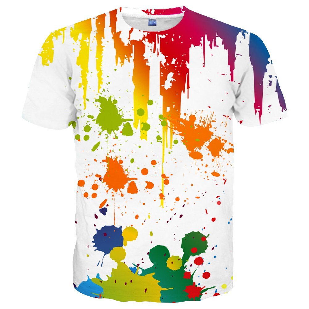 2442c316b3 Material:Polyester and spandex. The tee shirt made in high quality  fabric,the material feels soft stretchy. Using dye-sublimation,a technology  that allows ...