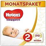 Huggies Newborn Baby Windeln für Neugeborene, Größe 2