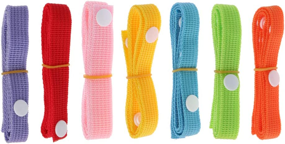 Adjustable Baby Bottle Holder Strap Dropping Stop Holder Hanger for Stroller Pushchair Pram kuou 7Pcs Baby Toy Straps For Stroller