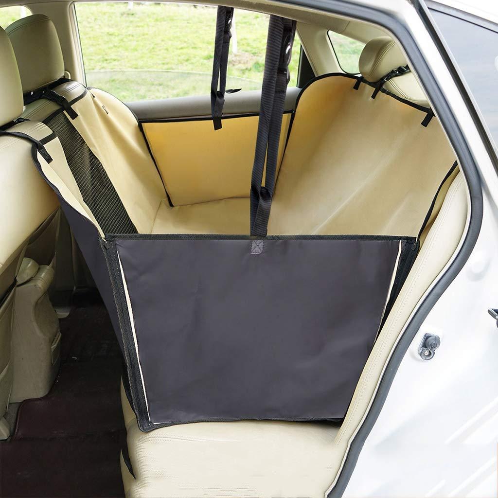 A Pet car seat cushion Anti-dirty pad Pet mat Car seat Safety cushion Dog pad Rear seat safety seat Waterproof Resistant dirty window (color   A)