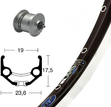 Bike-Parts Unisex - Bicicleta V-RAD 75Nabend DHC3003, Color Plateado, Talla única: Amazon.es: Deportes y aire libre