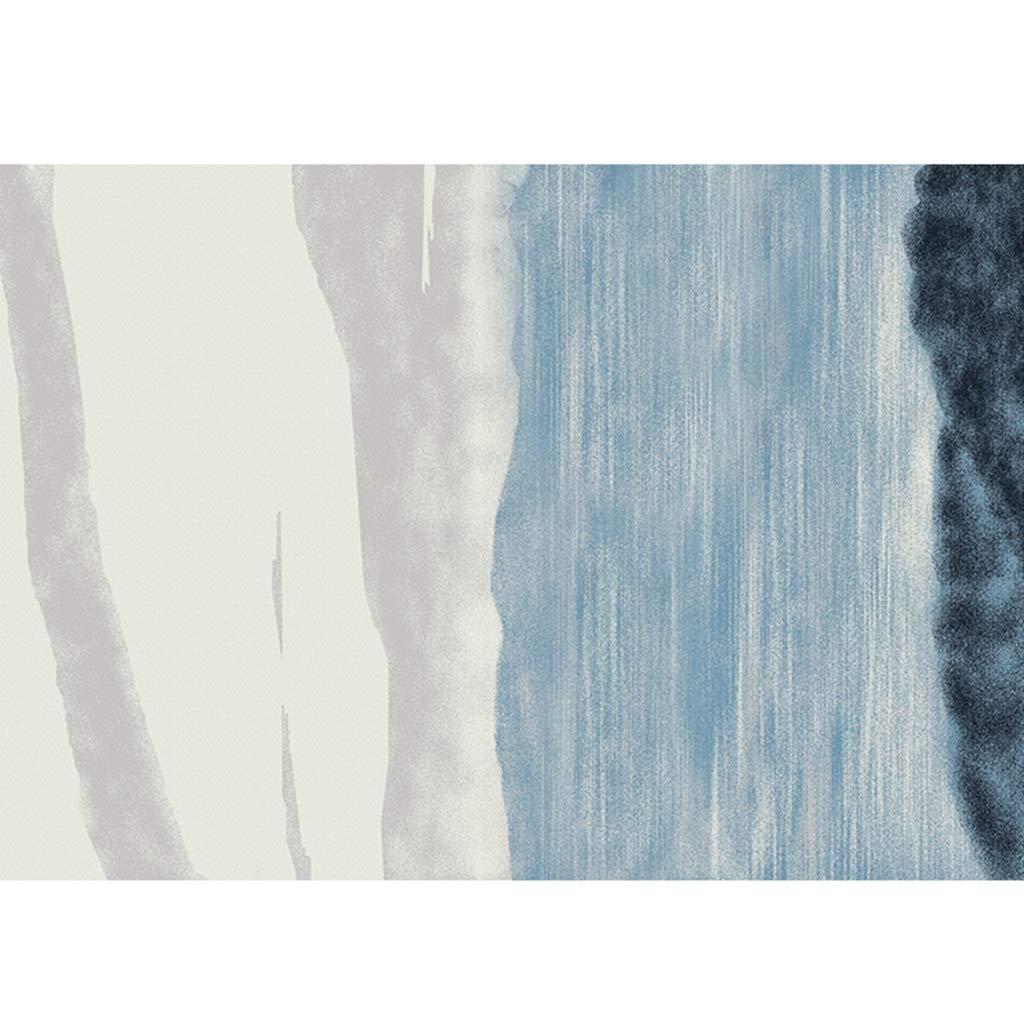 ラグマット カーペット ラグ 洗える 手洗い 160×230cm 長方形 屋内 室内 リビング ベッドルーム 滑り止め付 抗菌 防臭 防ダニ モダン ブロック 夏用 おしゃれ ラグカーペット ノンスリップ 防音 B07RY4WC7H R 160×230cm