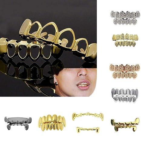 Amazon.com: Hip Hop tapas de dientes Grillz Parrillas ...