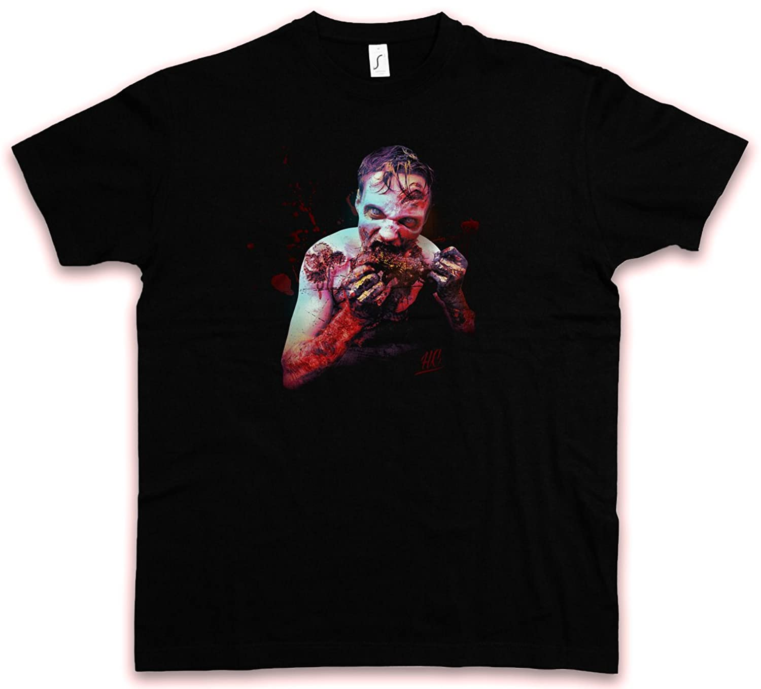 HATE ZOMBIE I HC HATE COUTURE T-SHIRT - The Gothic Splatter Gore Gothic Goth Walking Vampire Evil Dead Shirt Sizes S - 5XL