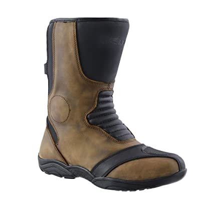 exquisite style latest largest selection of RAXID Motorcycle Boots Genuine Leather Scimitar Touring ...
