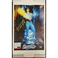 $156 » DALE MURPHY Signed 12x18 Canvas Photo Nike Ad + NL MVP Inscription ~ COA - PSA/DNA Certified - Autographed MLB Art