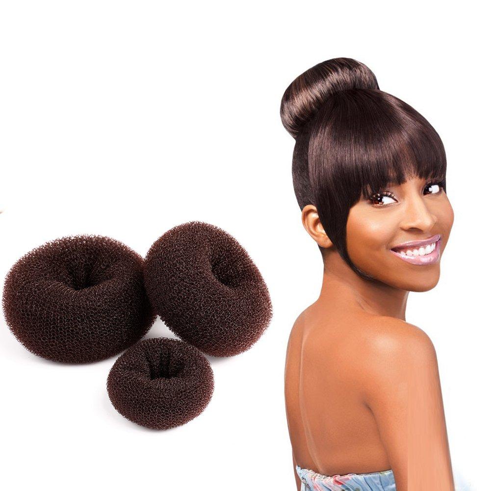 Easy Diy Bun Hairstyles: Amazon.com: Easy DIY Hair Donut Bun Maker Blonde For Women